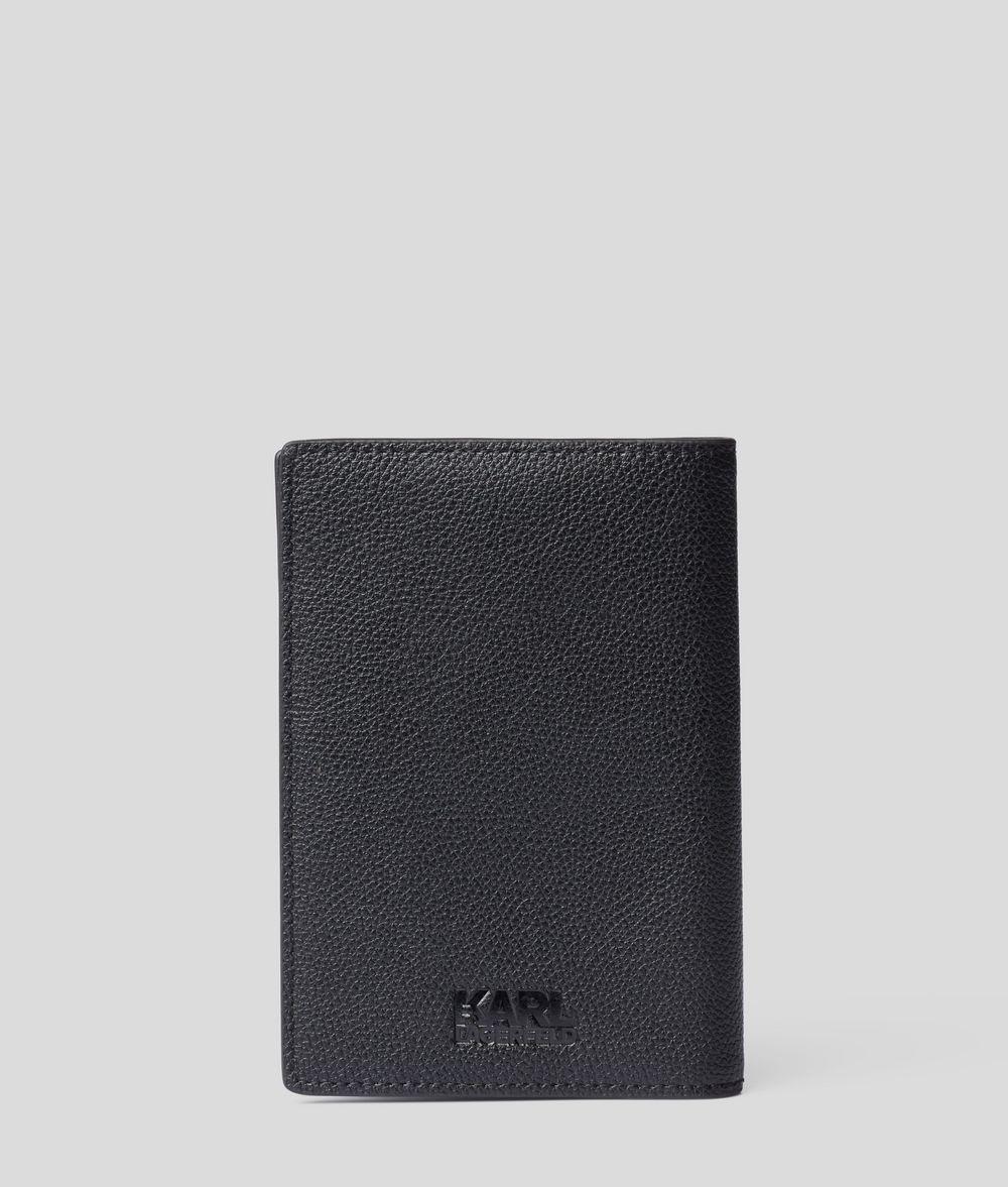 KARL LAGERFELD Rue St Guillaume Passport Cover Cardholder Man d