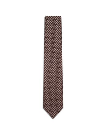 Bordeuax Micro Paisley Tie.