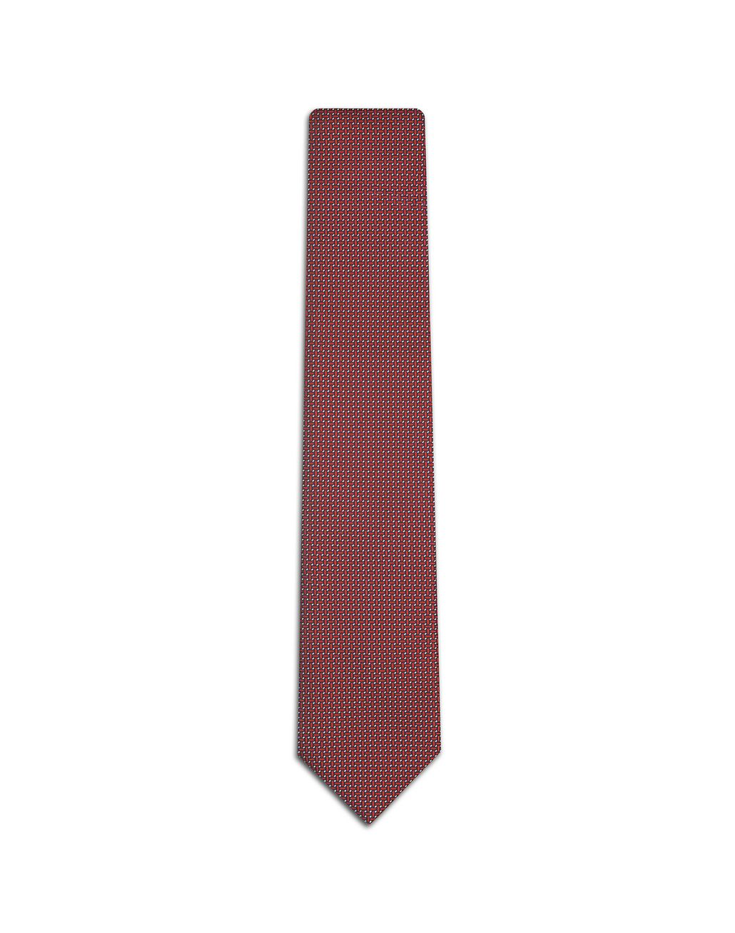 BRIONI Red Micro Designed Tie Tie Man f