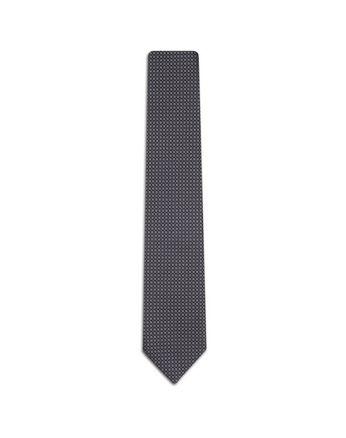 Blue Checked Tie.