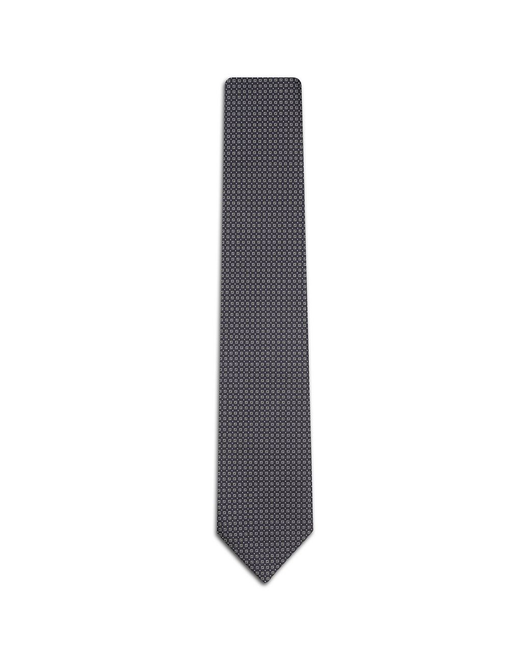 BRIONI Blue Checked Tie. Tie Man f