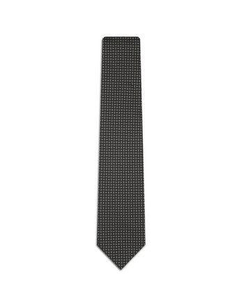 Blue Micro Designed Tie.