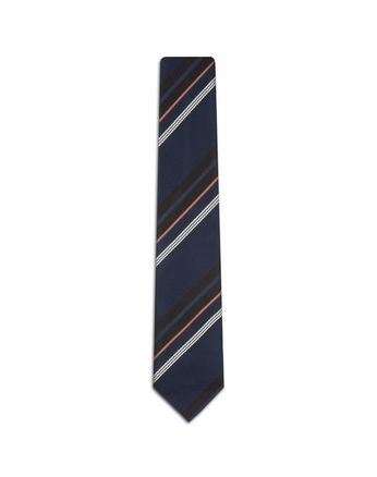 Blue Regimental Tie.