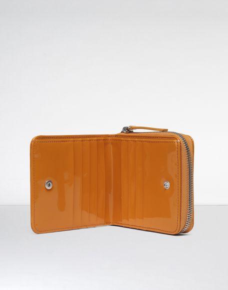 MM6 MAISON MARGIELA Portafoglio effetto vernice con zip Portafoglio Donna d