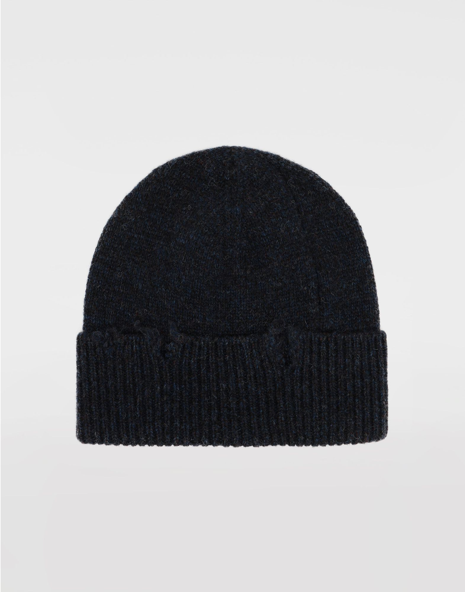 MAISON MARGIELA Destroyed wool beanie Hat Woman f