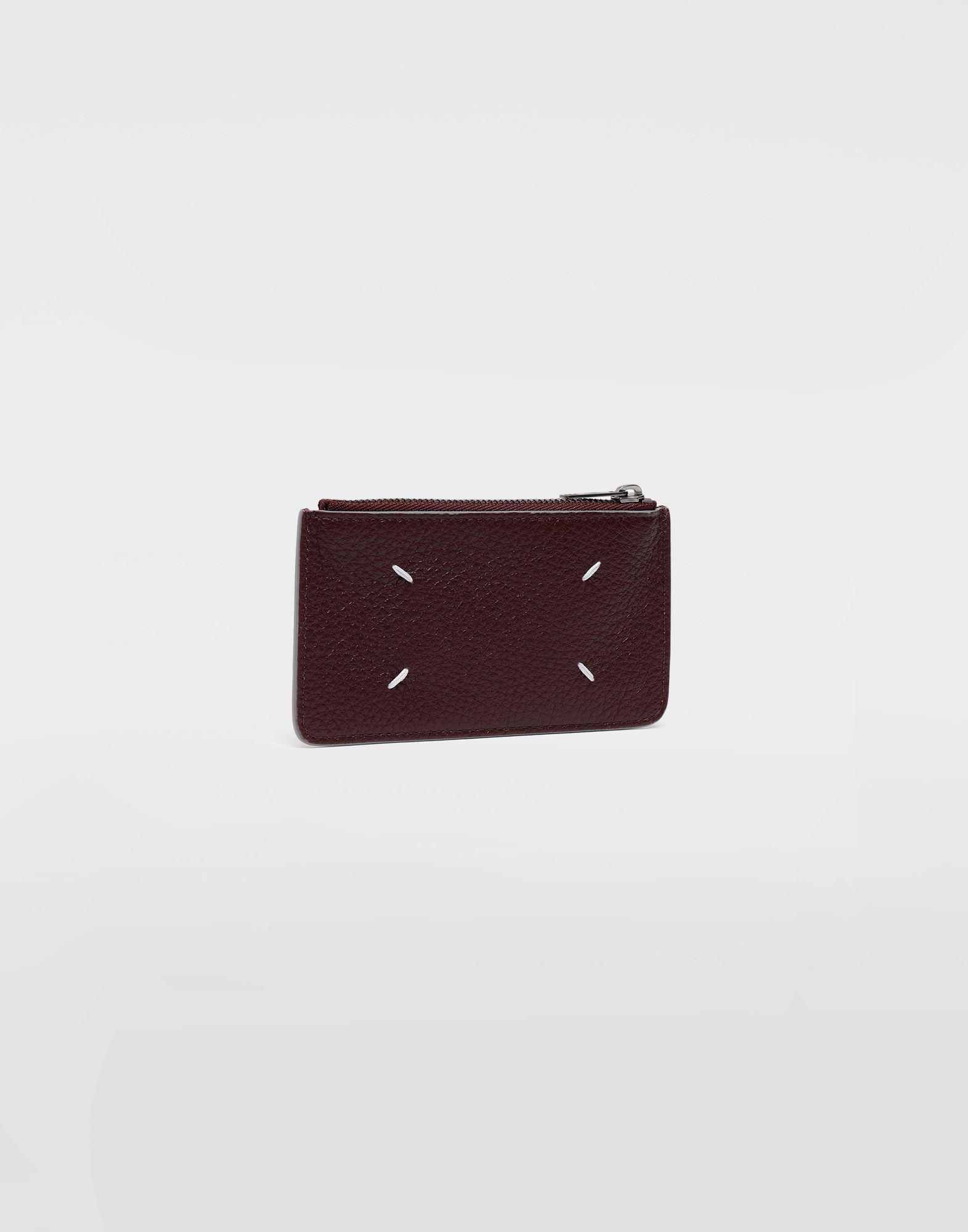 MAISON MARGIELA Leather zip wallet Wallets Man r