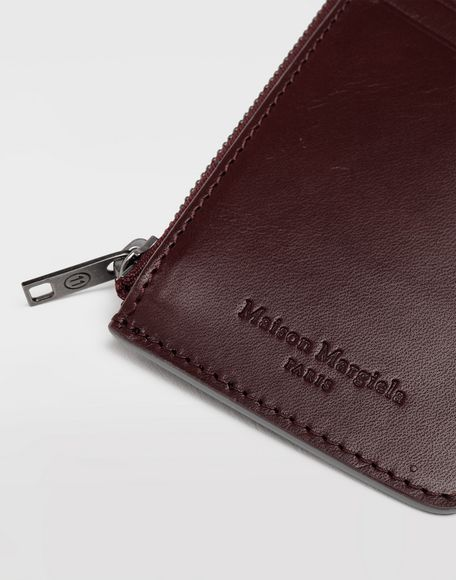 MAISON MARGIELA Leather zip wallet Wallets Man e