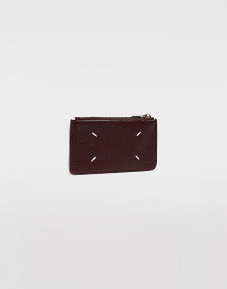 MAISON MARGIELA Leather zip wallet Wallets Man r