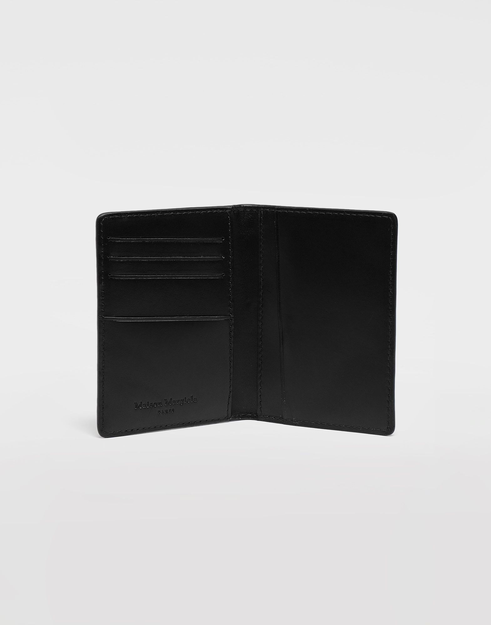 MAISON MARGIELA Leather fold-over wallet Wallets Man d