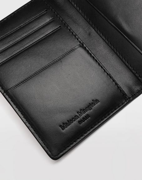 MAISON MARGIELA Leather fold-over wallet Wallet Man e