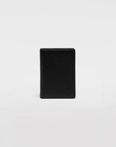 MAISON MARGIELA Leather fold-over wallet Wallets Man f