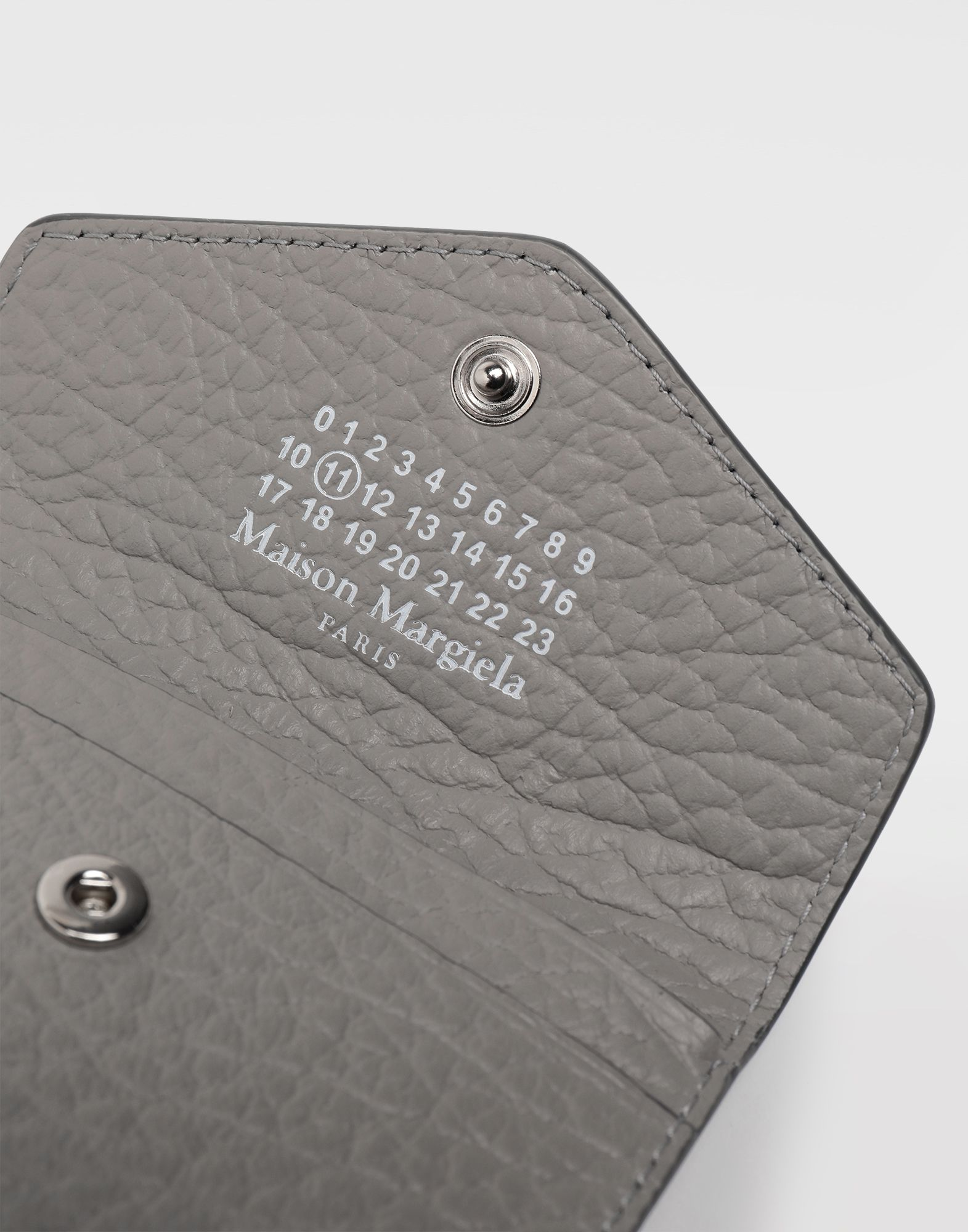 MAISON MARGIELA Leather keyring wallet Wallet Woman e