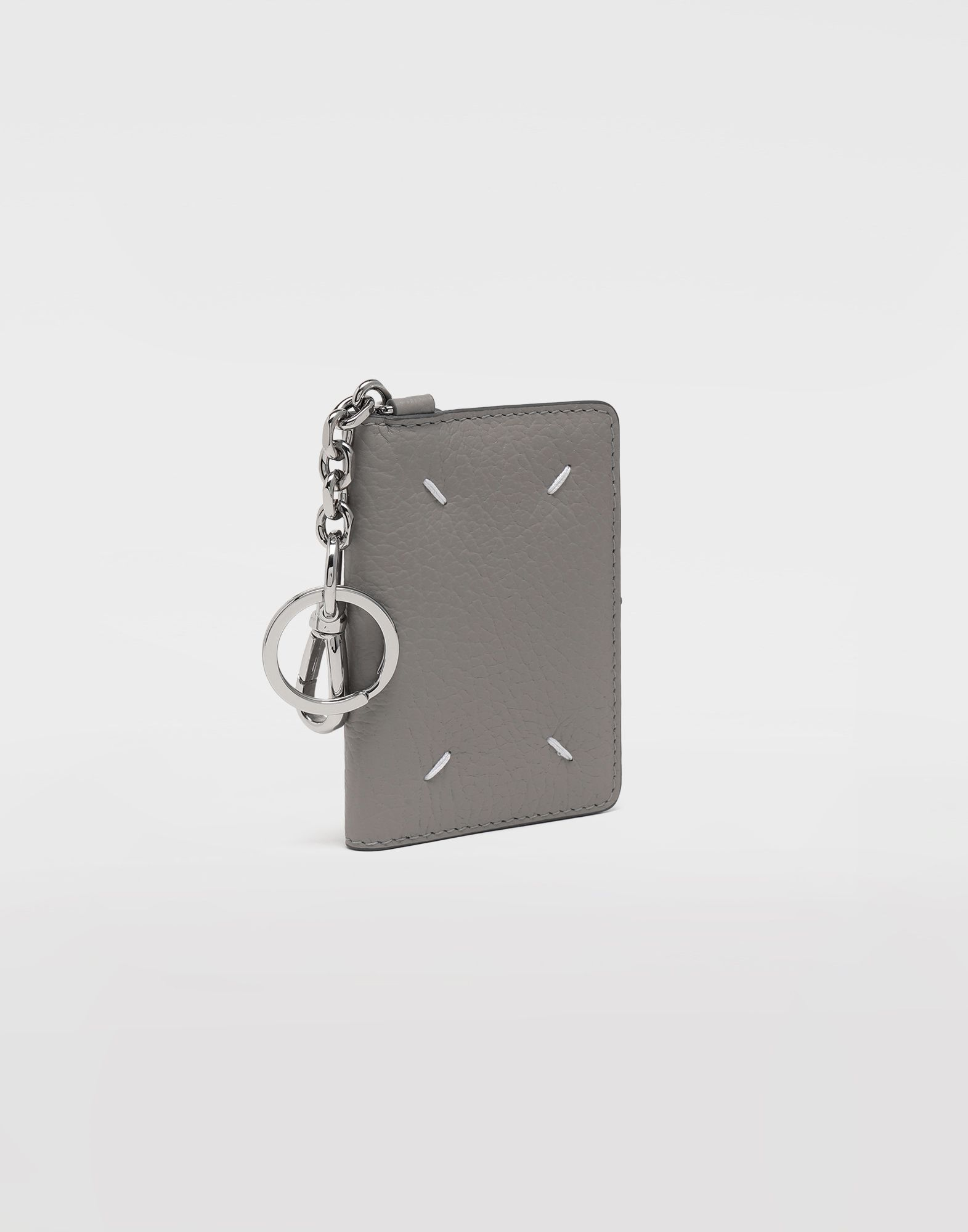 MAISON MARGIELA Leather keyring wallet Wallets Woman r