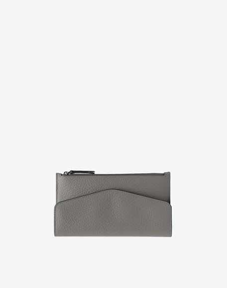 MAISON MARGIELA Leather zip-edge wallet Wallet Woman f