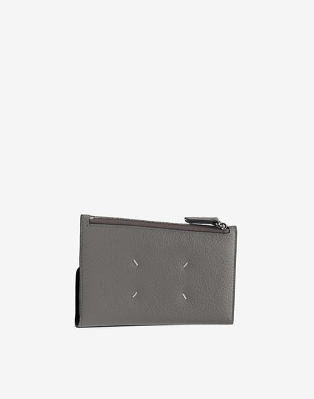 MAISON MARGIELA Leather zip-edge wallet Wallet Woman r