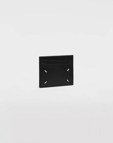 ACCESSORIES Logo card holder Black