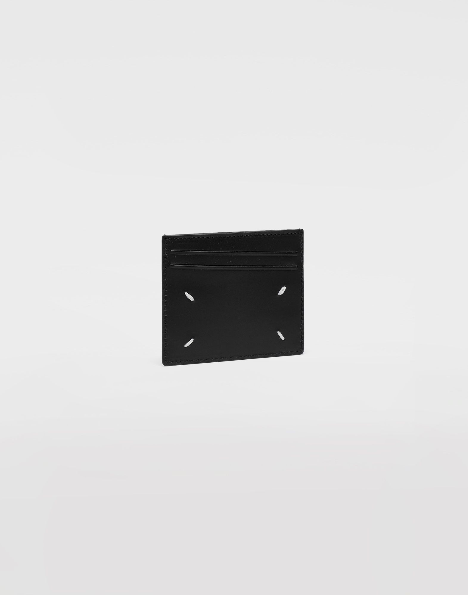 MAISON MARGIELA Logo card holder Wallets Man r