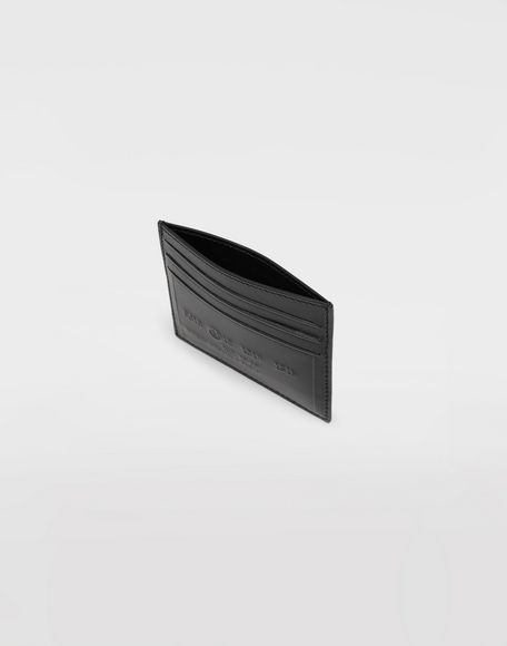 MAISON MARGIELA Logo card holder Wallets Man d