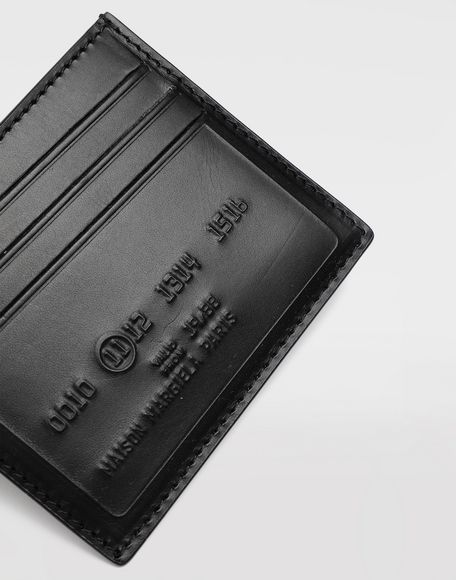 MAISON MARGIELA Logo card holder Wallets Man e