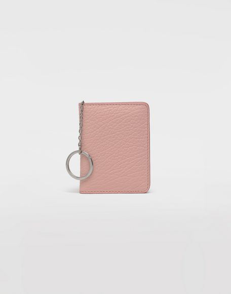 MAISON MARGIELA Leather keyring small wallet Wallet Woman f