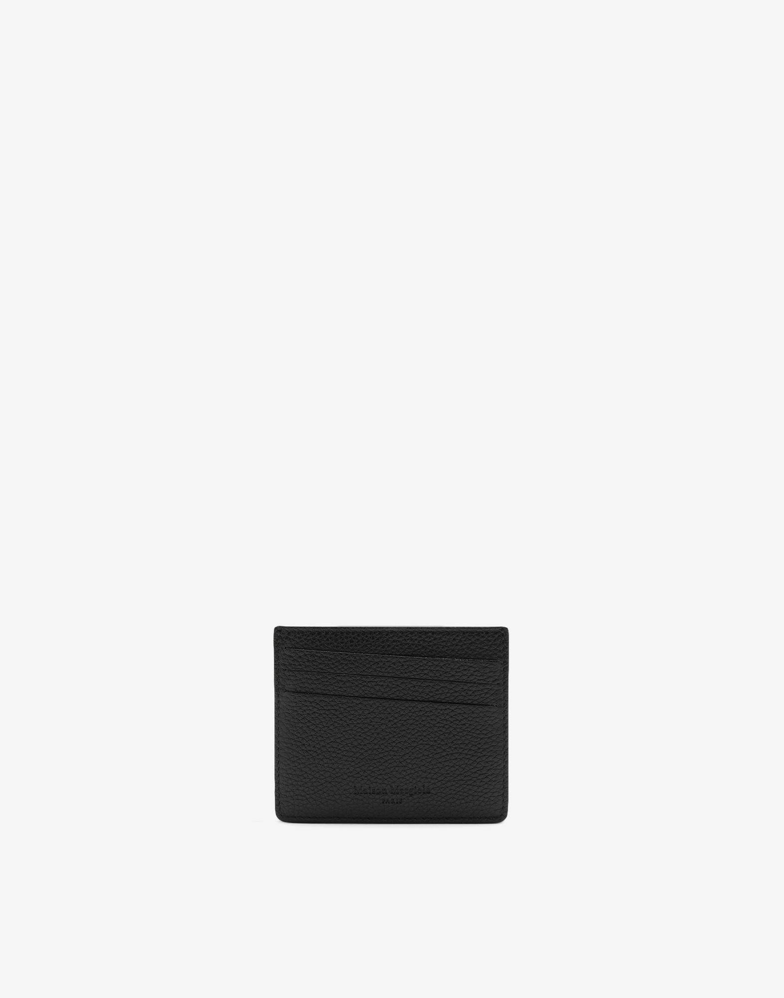 MAISON MARGIELA Leather card holder Wallets Man f