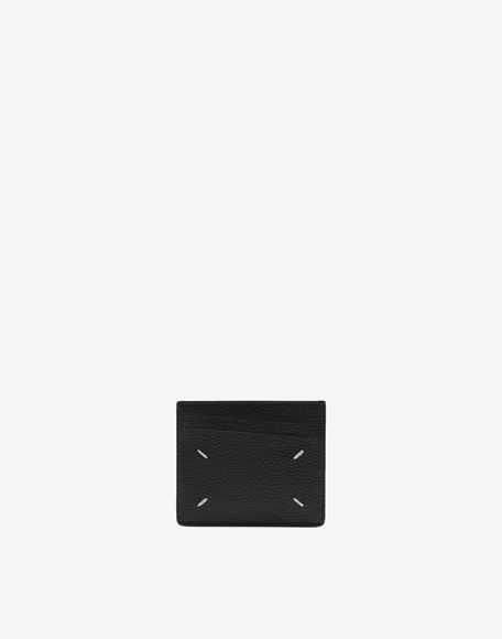 MAISON MARGIELA Leather card holder Wallets Man r