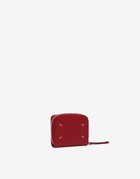 MAISON MARGIELA Leather zip-around wallet Wallets Woman r