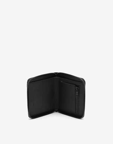 ACCESSORIES Small zip-around wallet Black