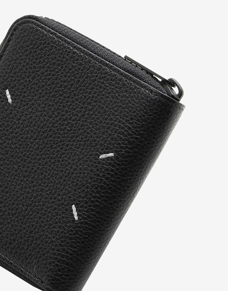 MAISON MARGIELA Small zip-around wallet Wallets Man e