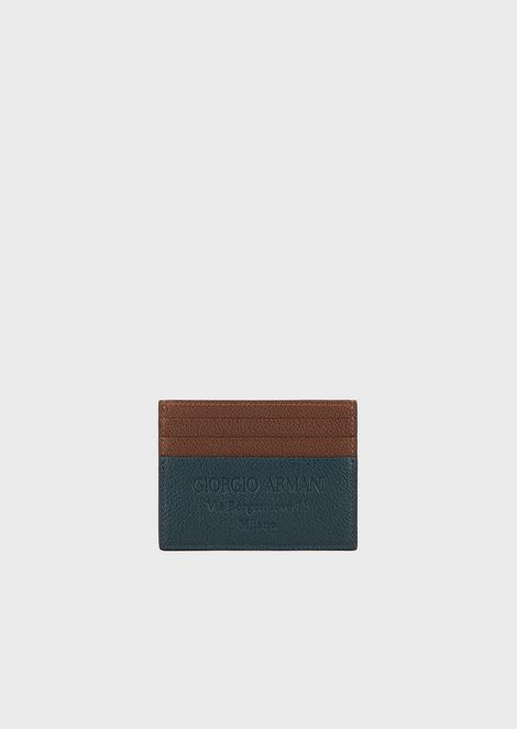 GIORGIO ARMANI Card Holder Man f
