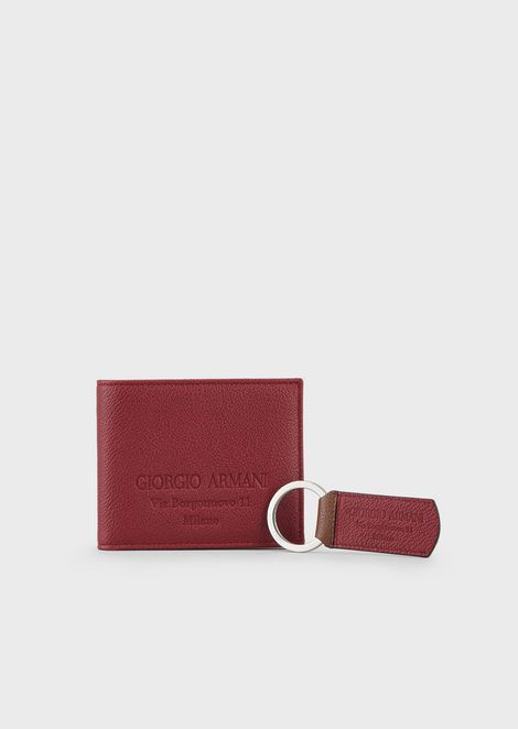 GIORGIO ARMANI Leather goods Sets Man f