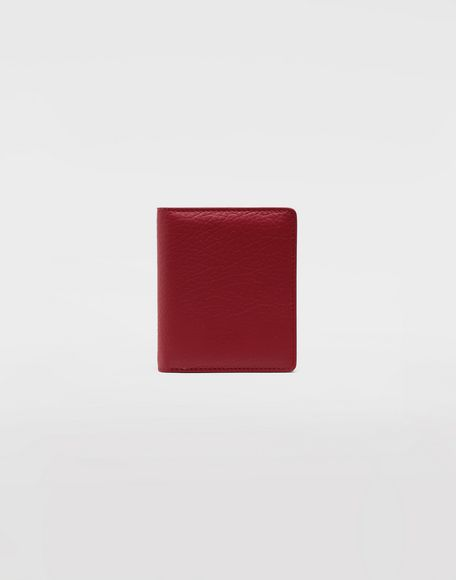 MAISON MARGIELA Leather popper wallet Wallets Woman f
