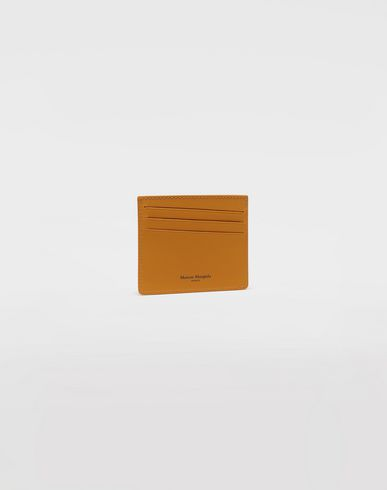 ACCESSORIES  Logo wallet Ochre