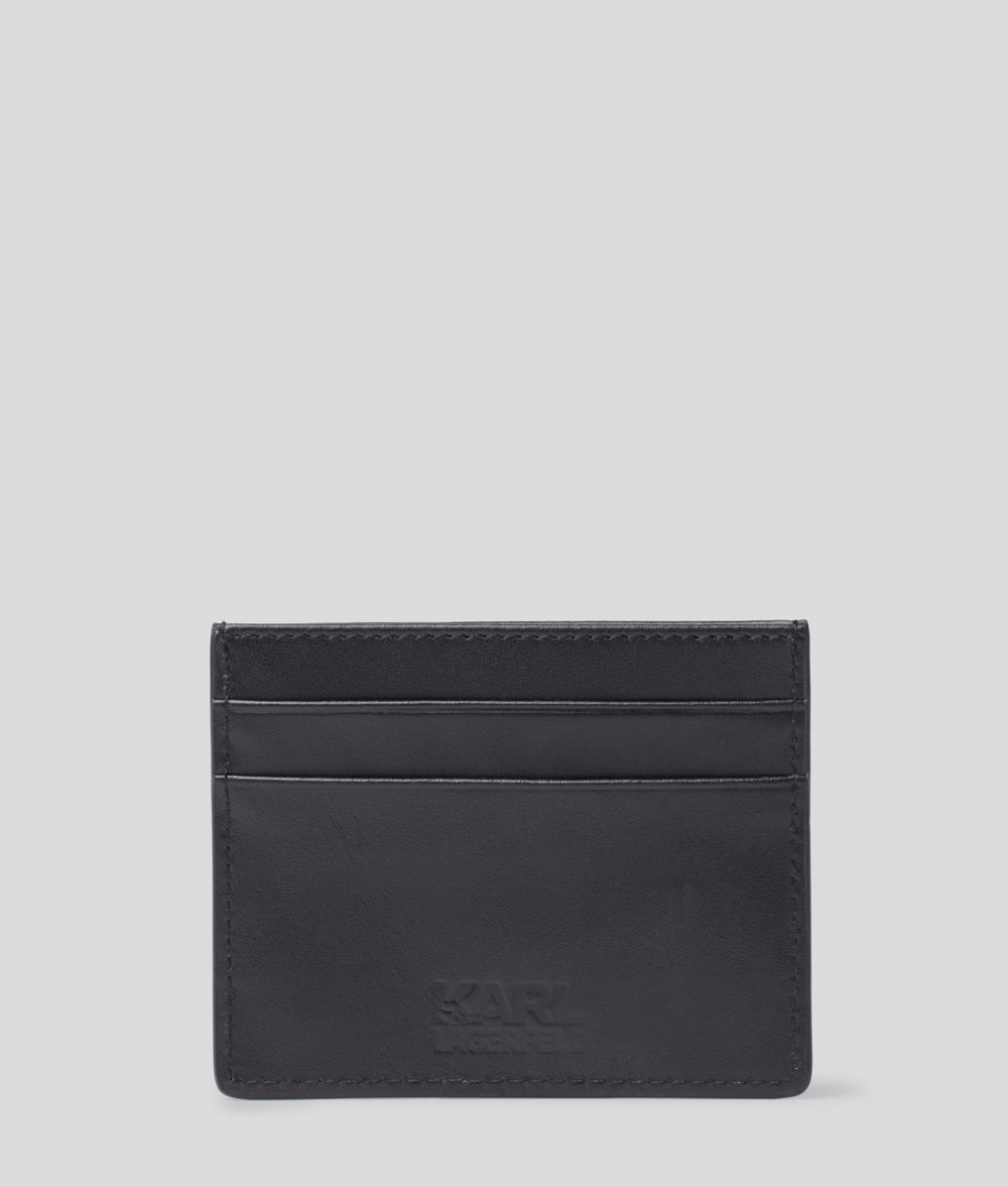 KARL LAGERFELD K/Ikonik Card Holder Cardholder Woman d