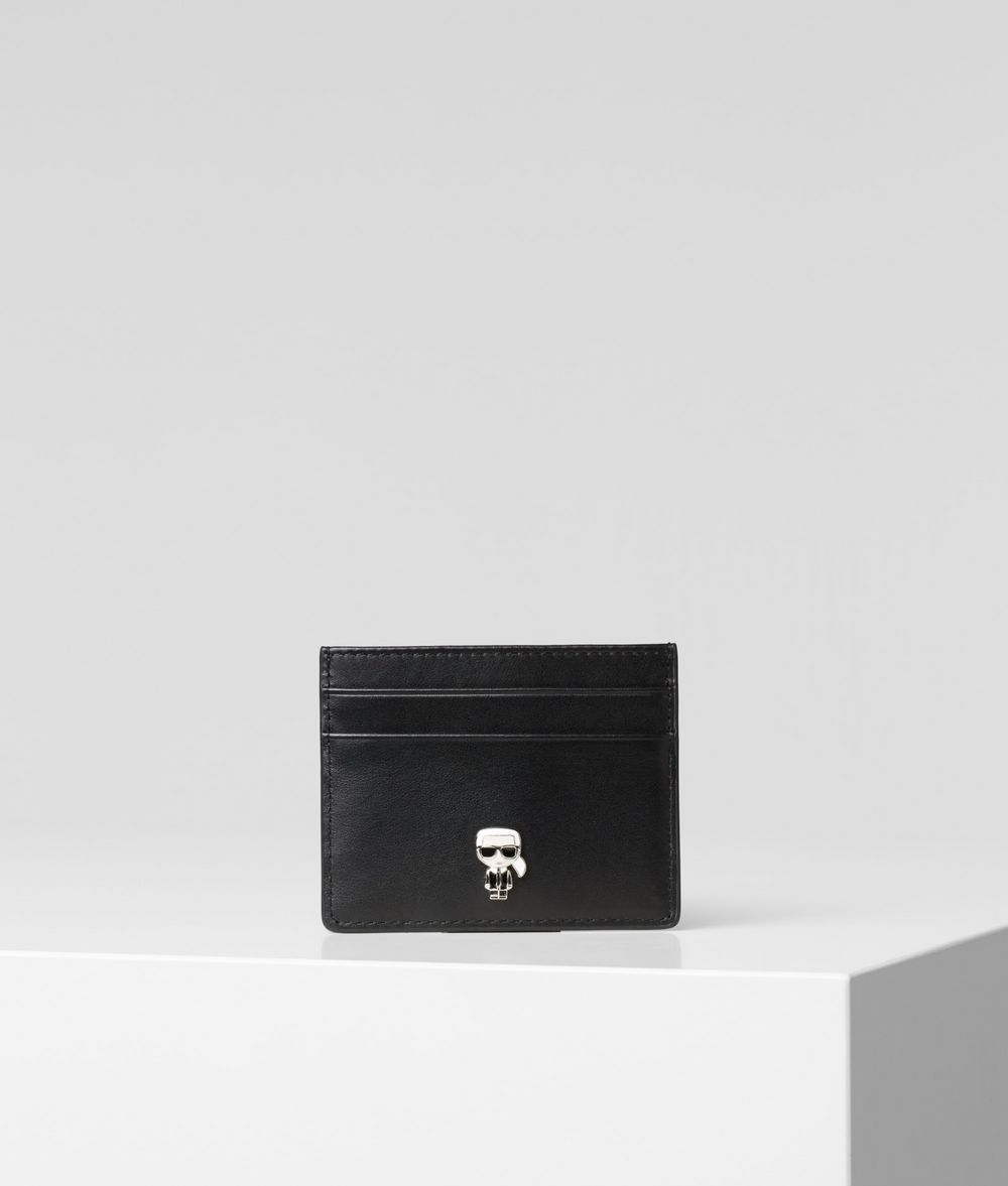 KARL LAGERFELD K/Ikonik Card Holder Cardholder Woman f
