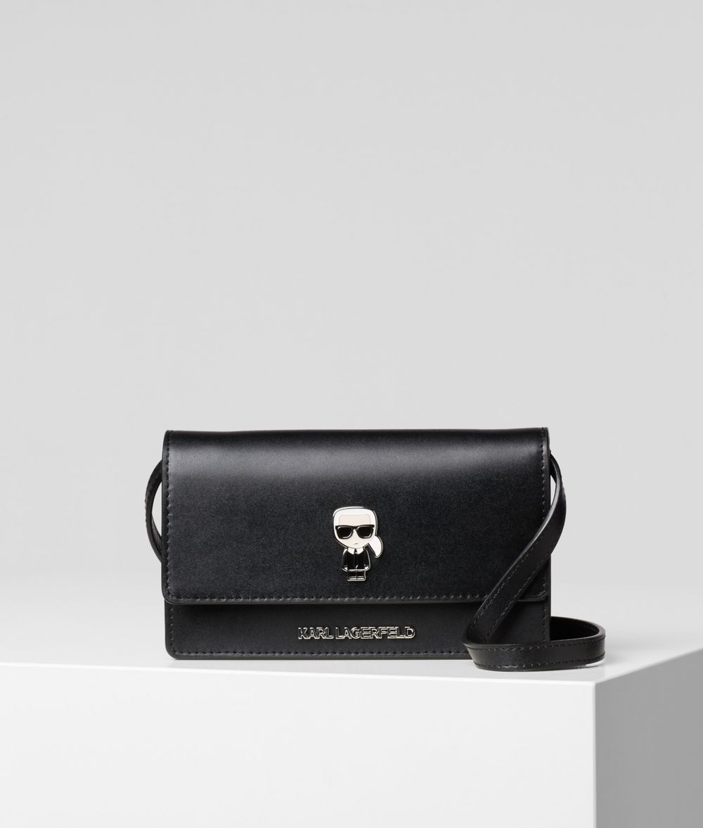KARL LAGERFELD K/Ikonik Flat Wallet Bag Wallet Woman f