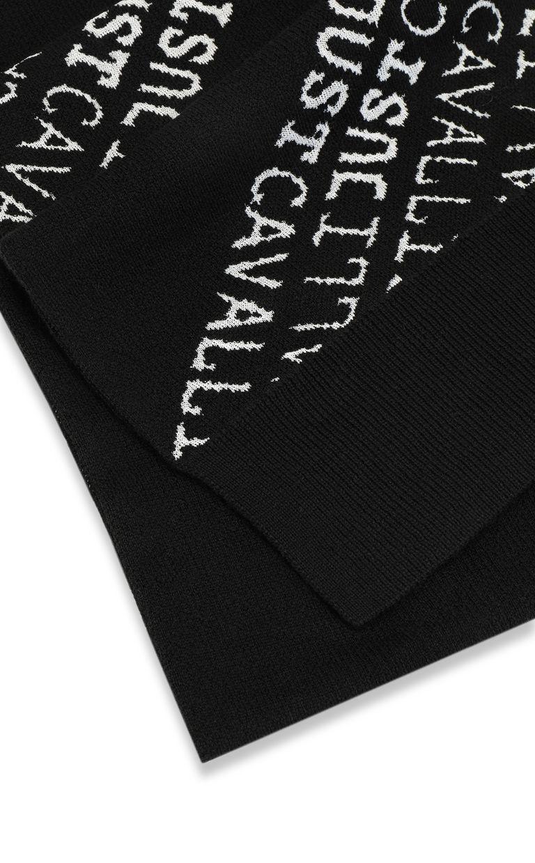 JUST CAVALLI Logomania scarf Scarf Man d
