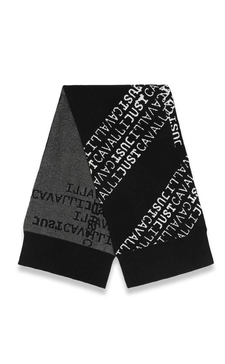 JUST CAVALLI Logomania scarf Scarf Man r