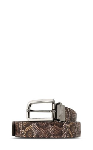 JUST CAVALLI Belt Man Belt with logo f