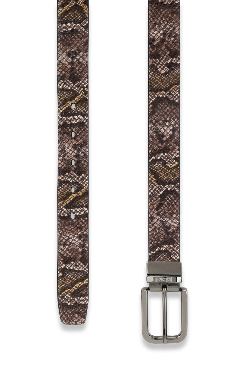 JUST CAVALLI Python-print belt Belt Man d