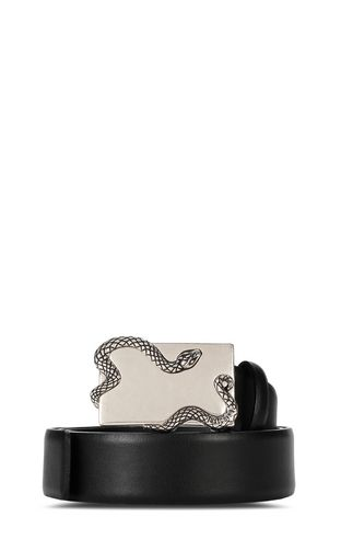 JUST CAVALLI Belt Man Just belt with snake detail f