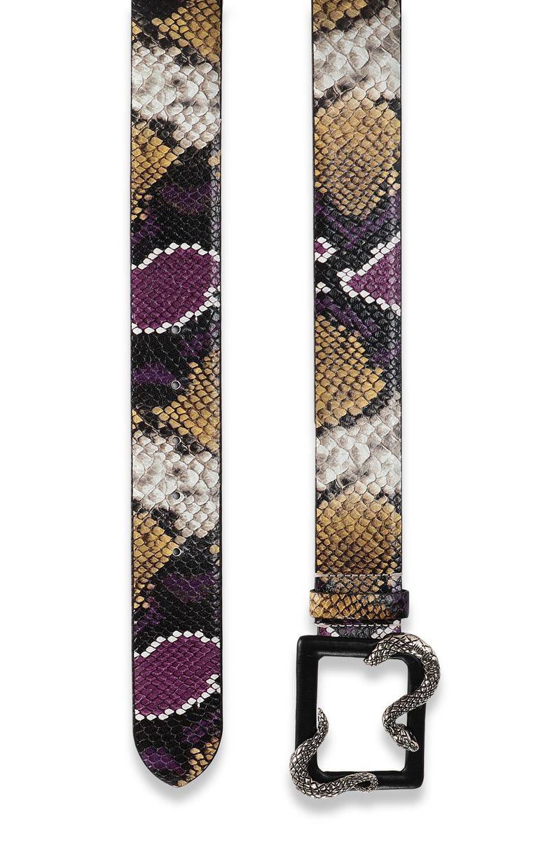 JUST CAVALLI Snake buckle belt Belt Woman d