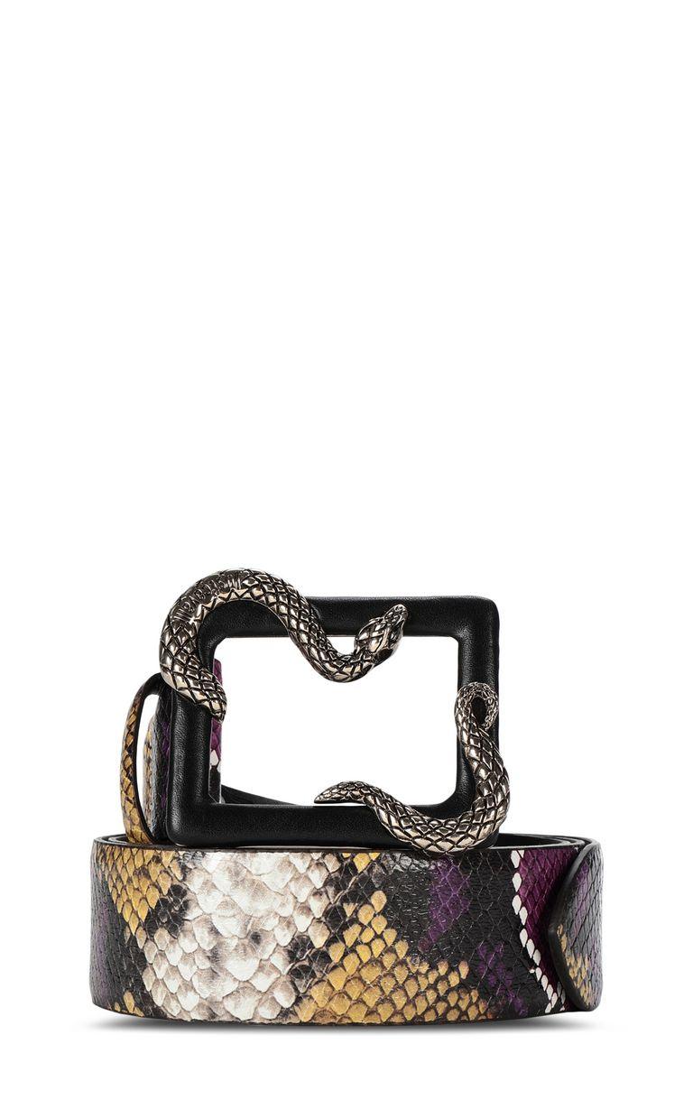 JUST CAVALLI Snake buckle belt Belt Woman f