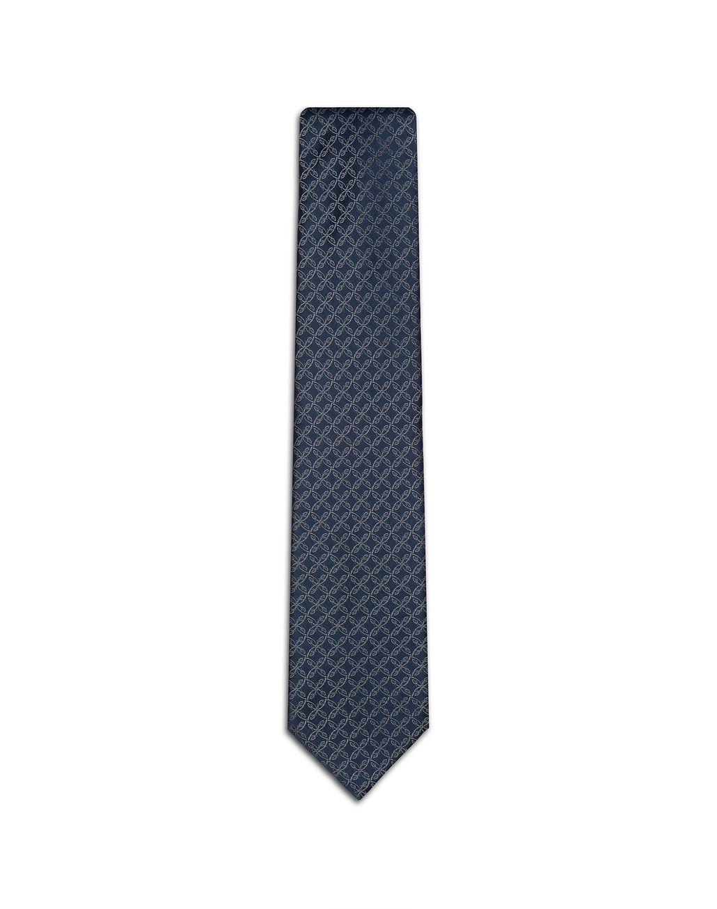 BRIONI Blue B-Logo Tie Tie Man f