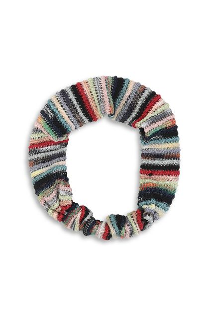 MISSONI KIDS Head band Sky blue Woman - Back