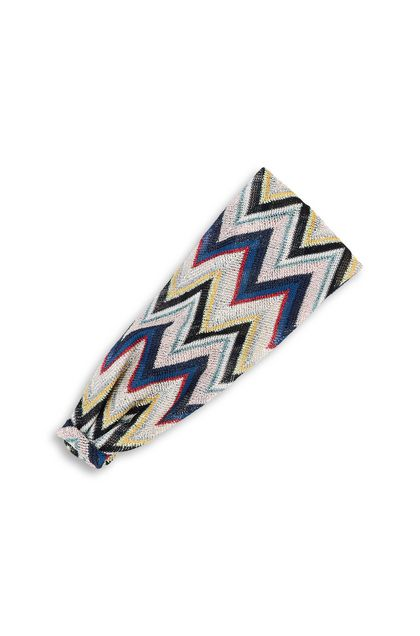 MISSONI KIDS Head band Blue Woman - Front