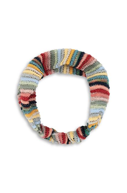 MISSONI KIDS Head band Red Woman - Back