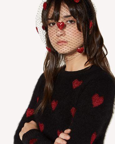 REDValentino SQ2J0B31CEV 0NR Headband Woman d