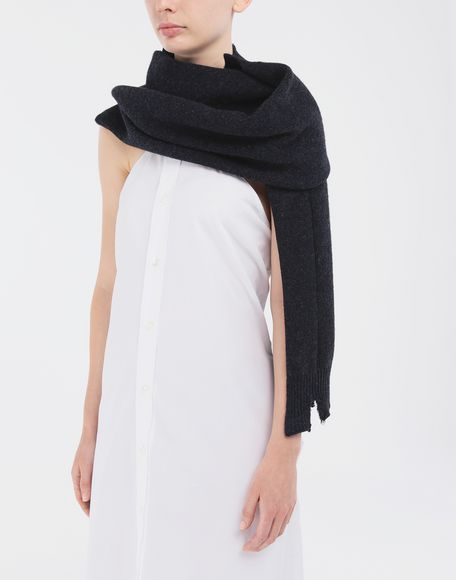 MAISON MARGIELA Reworked wool scarf Scarf Woman r