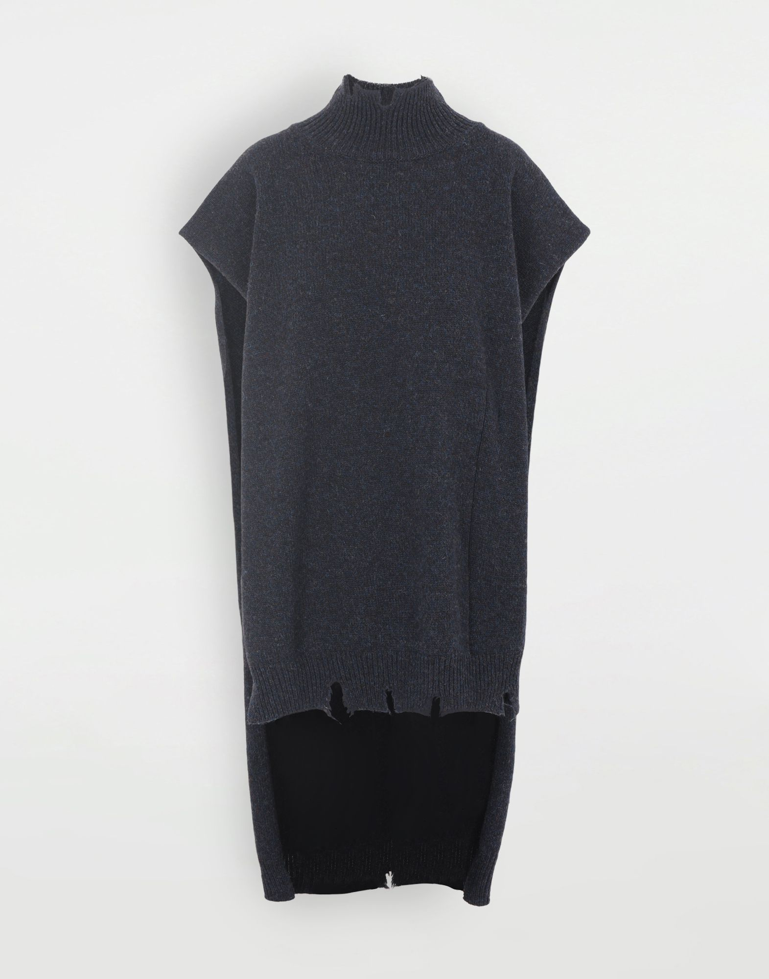 MAISON MARGIELA Destroyed wool tabard Stole Woman f